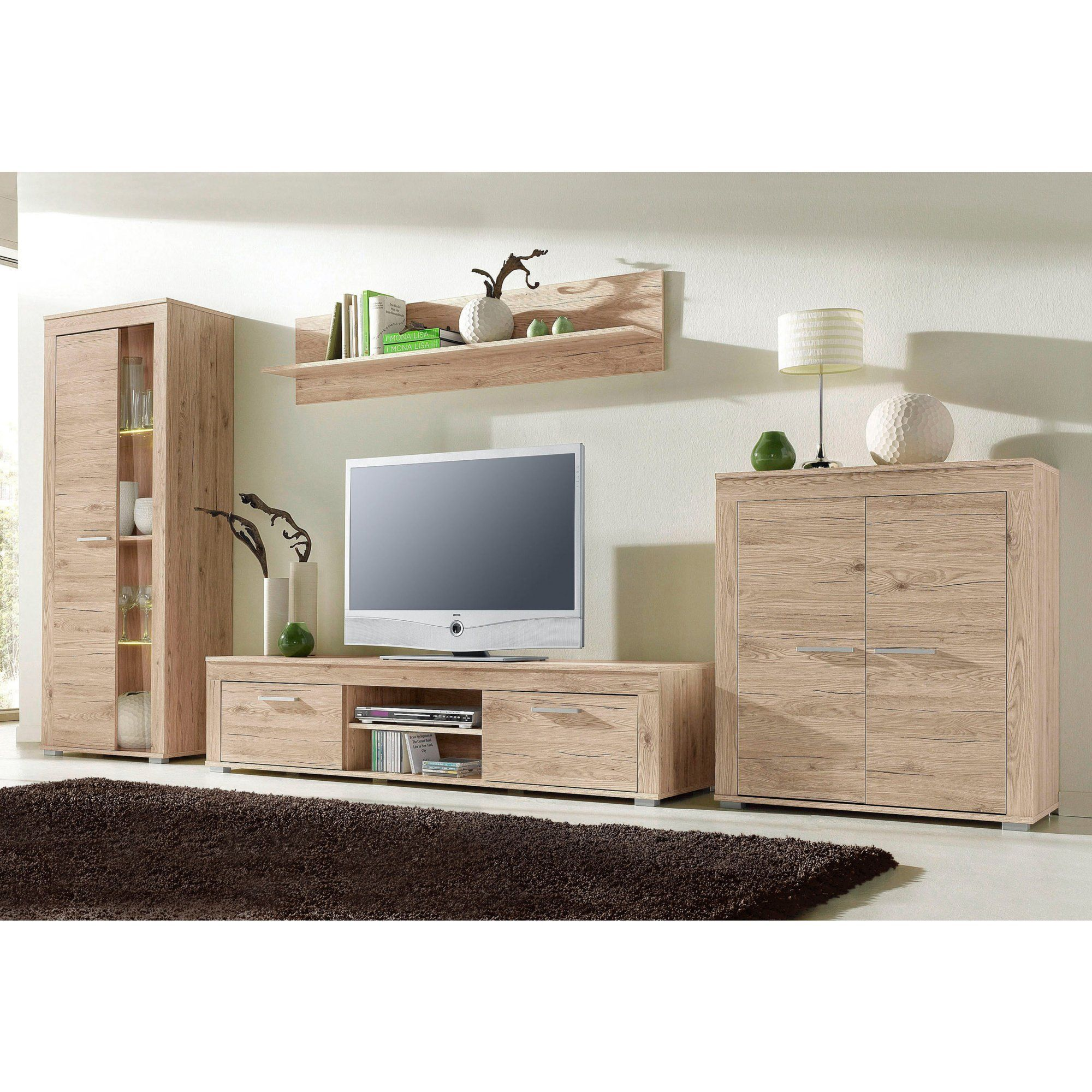 ensemble salon vitrine haute buffet 2 portes meuble tv. Black Bedroom Furniture Sets. Home Design Ideas