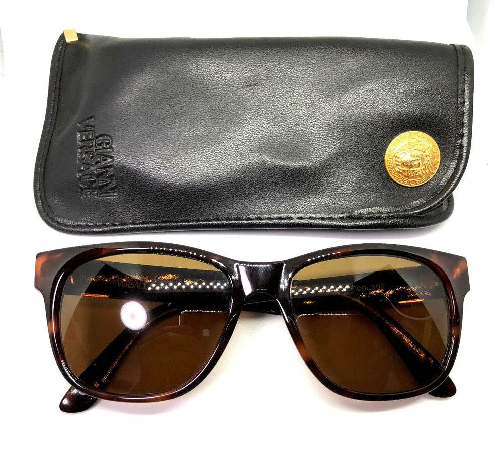 e940b122ff6 Gianni Versace Mod.411 Col.900 Vintage Sunglasses 372 465 424  affilink   vintagesunglasses  vintage