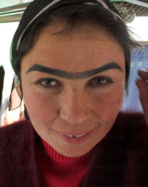 The Worst Eyebrows Vol Ii 23 More Fashion Disasters Bad Makeup