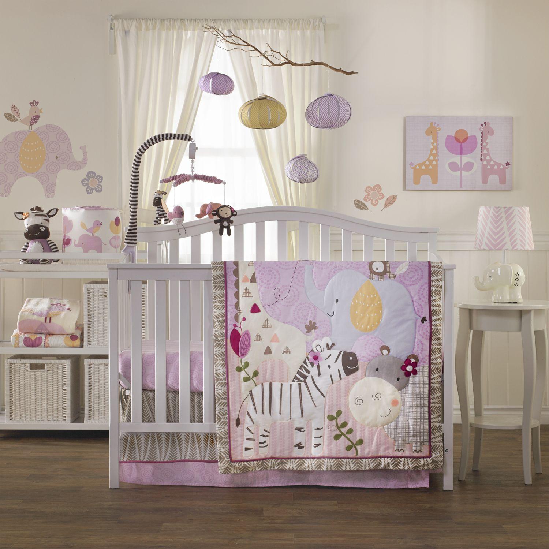 Baby crib zebra bedding - Cute Surina Baby Beddings Baby Quilt 4 Piece Crib Set Blankie And Accessories