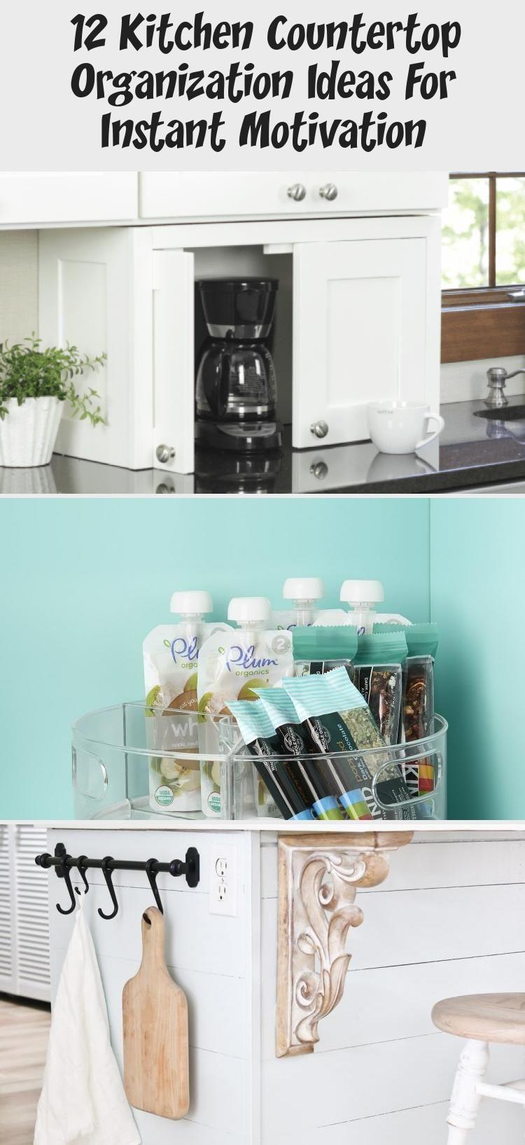 12 Kitchen Countertop Organization Ideas For Instant Motivation