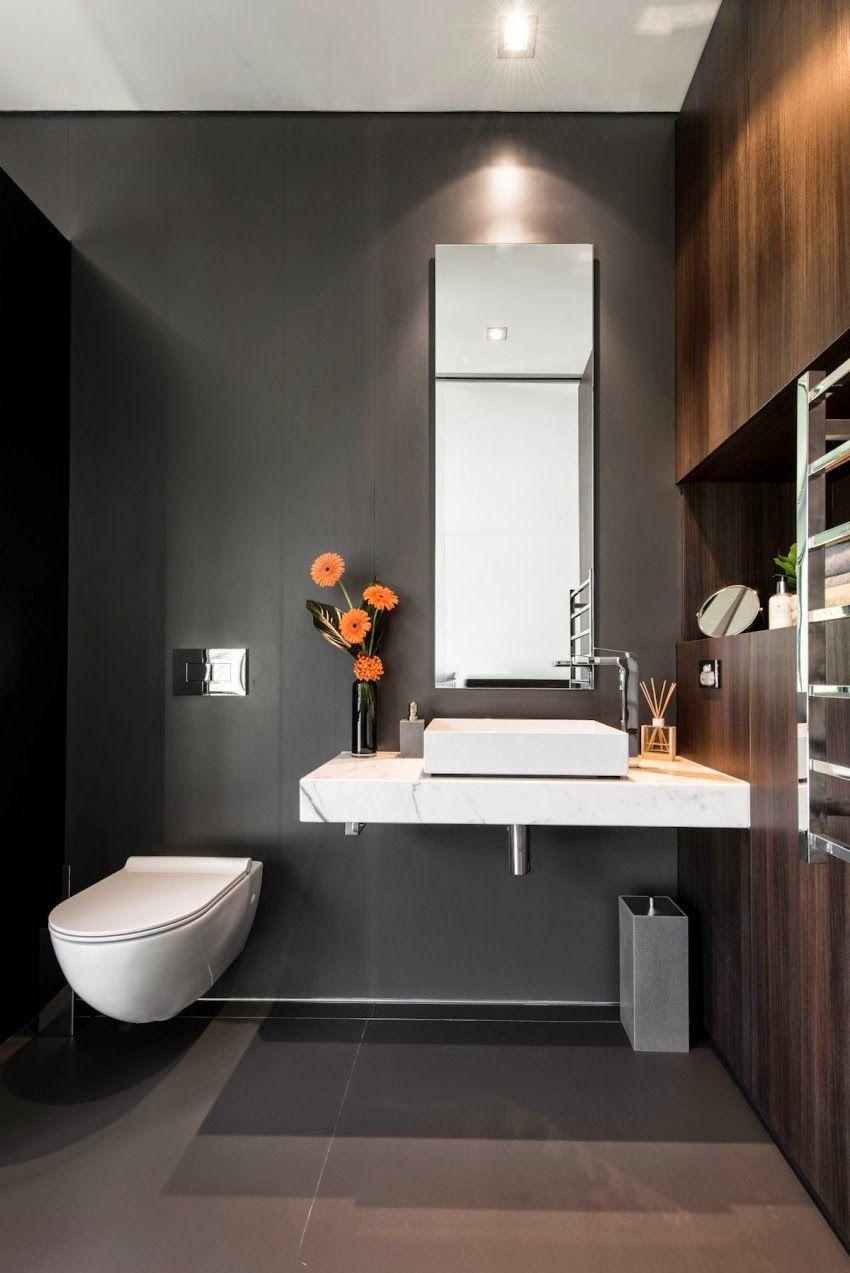 Dise o de interiores arquitectura moderna casa con un for Diseno de interiores banos