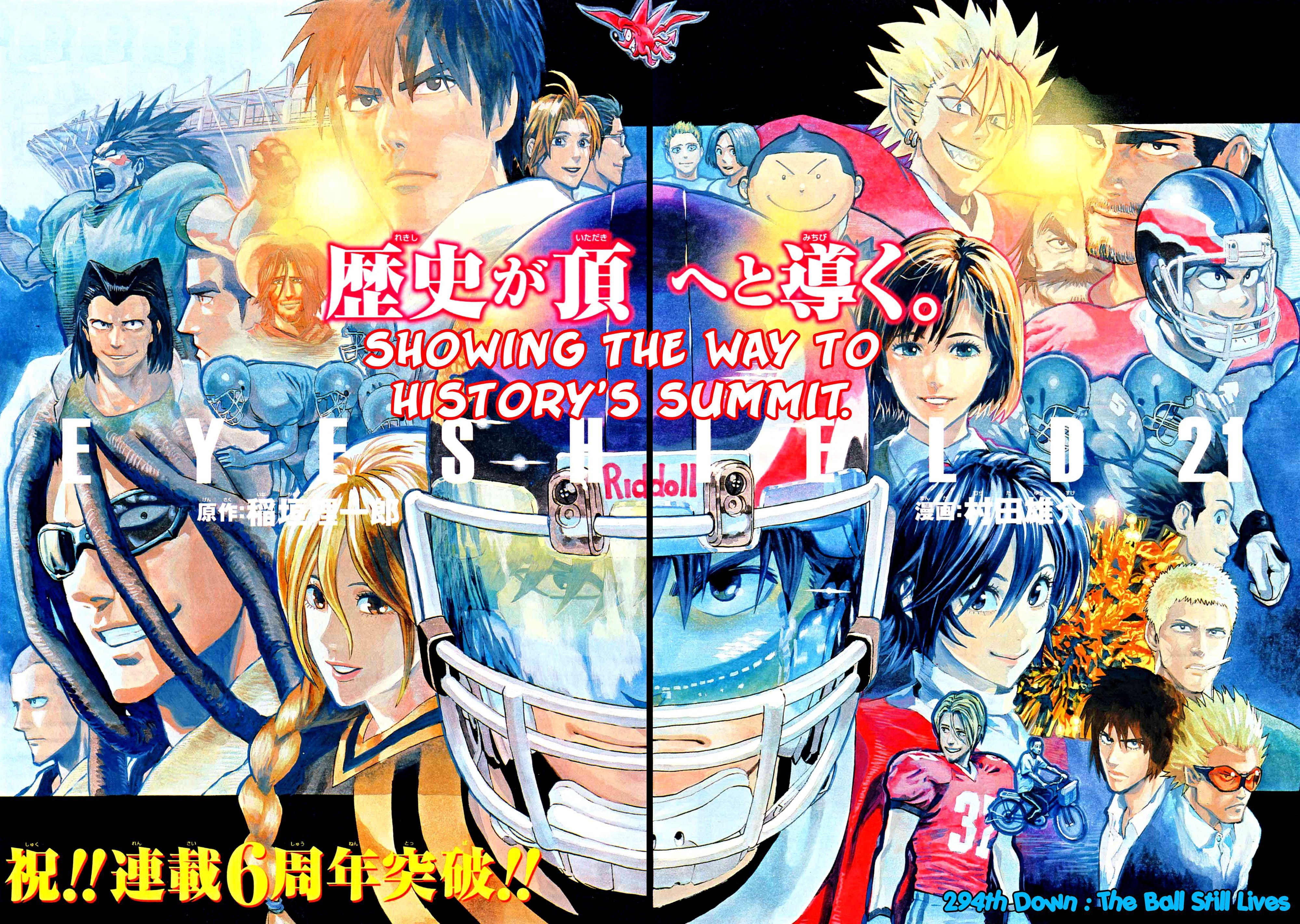 Read manga Eyeshield 21 294 Read Online online in high quality
