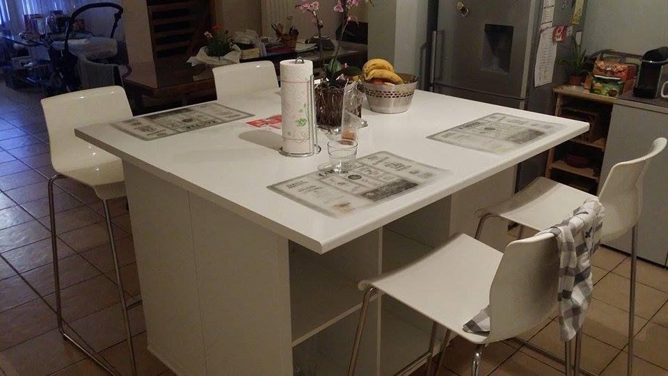 Un ilot de cuisine moderne pas cher d co cuisine ilot - Magasin de cuisine equipee pas cher ...