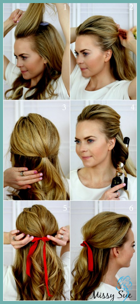 Einmalig Von Festliche Frisuren Halblange Haare Unsere Top 20 Damen Fr Festliche Frisuren Kurzes Haar Lassige Frisuren Mittellange Haare Frisuren Einfach