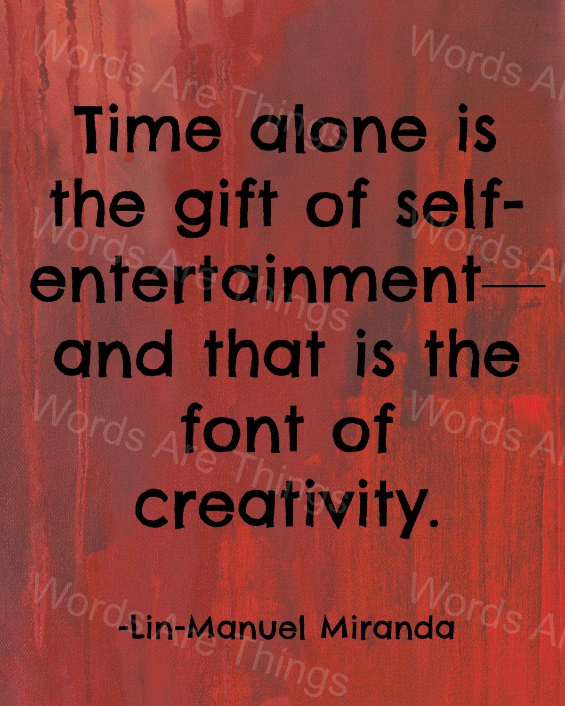 Lin Manuel Miranda Inspirational Quotes Printable Poster