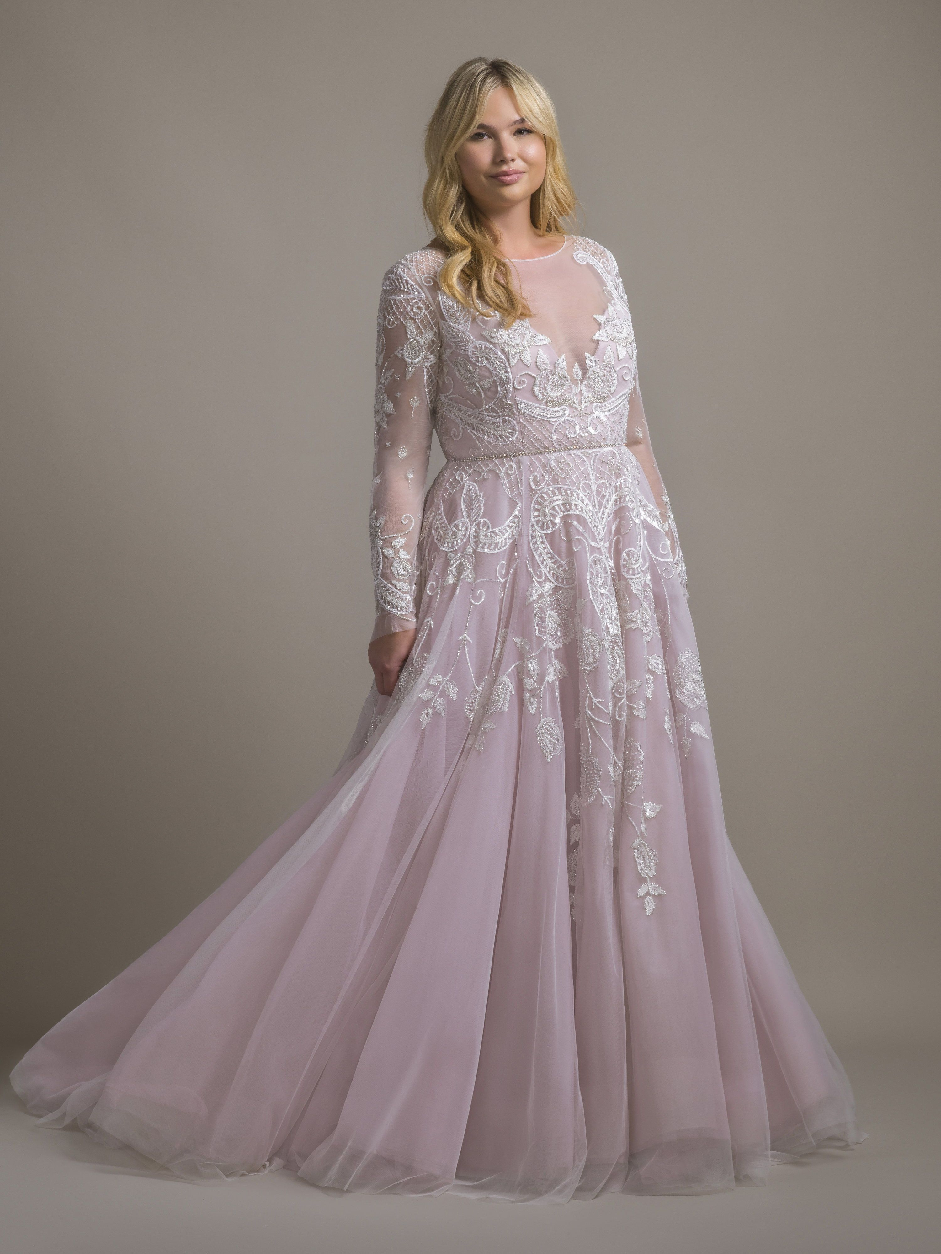 Hayley Hayley Paige Aline Wedding Dress Princess