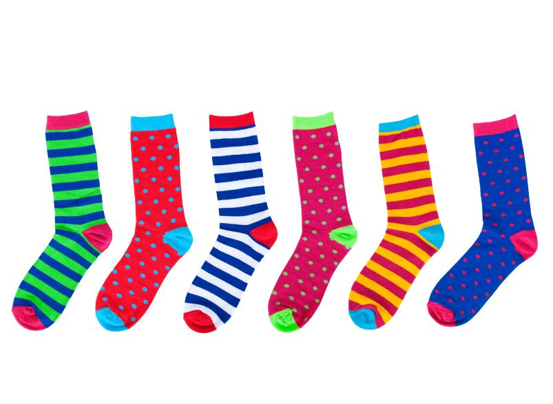 Funky Feet Socks set of six Art socks, Foot socks, Socks