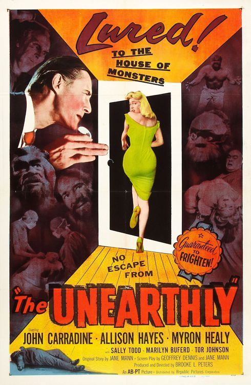 The Unearthly (1959) - poster
