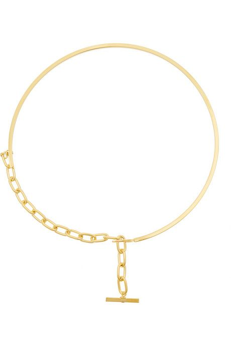Gemma Redux Gold-plated necklace