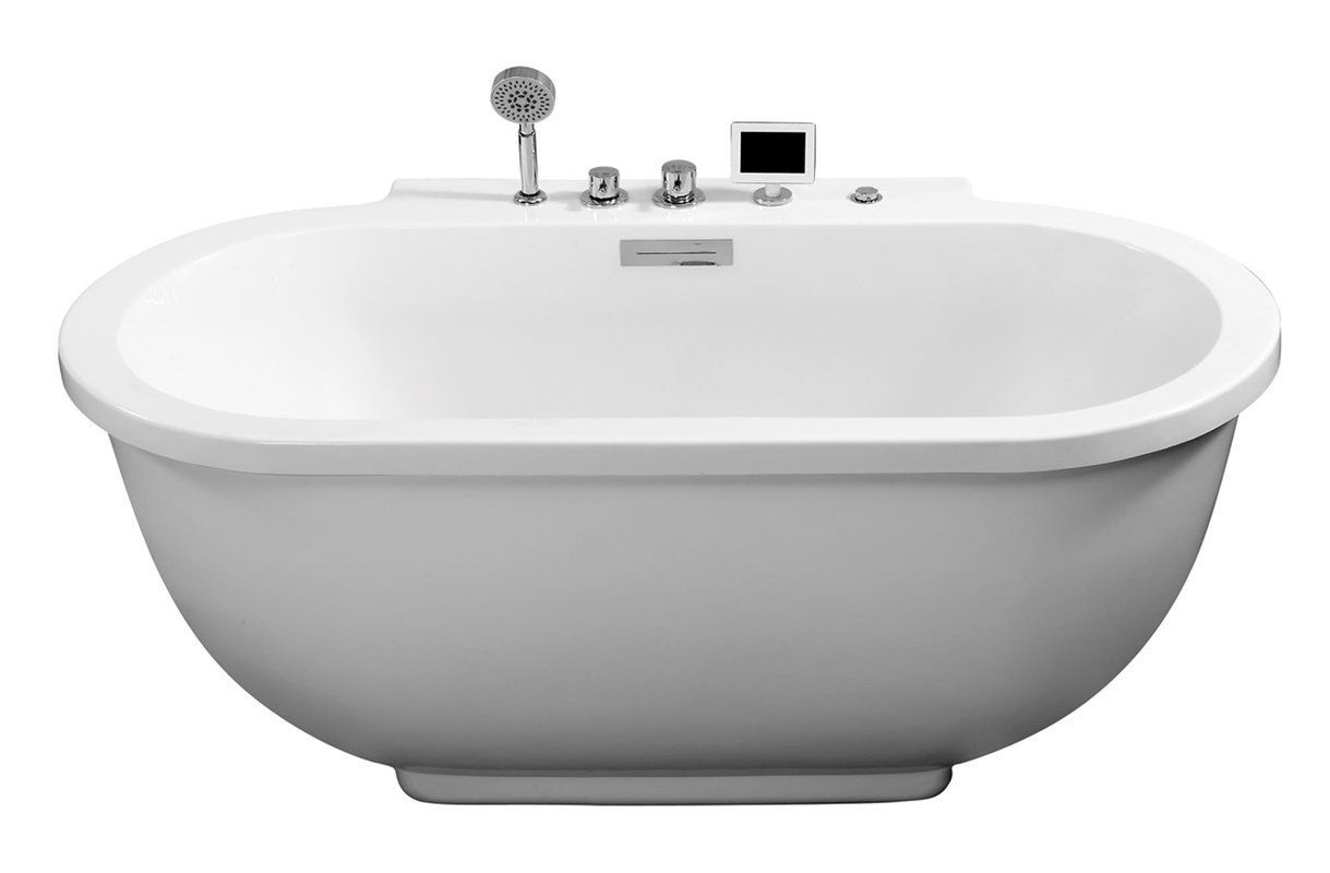 Best Freestanding Tubs: TOP 10 Freestanding Bathtubs Reviews 2018 ...