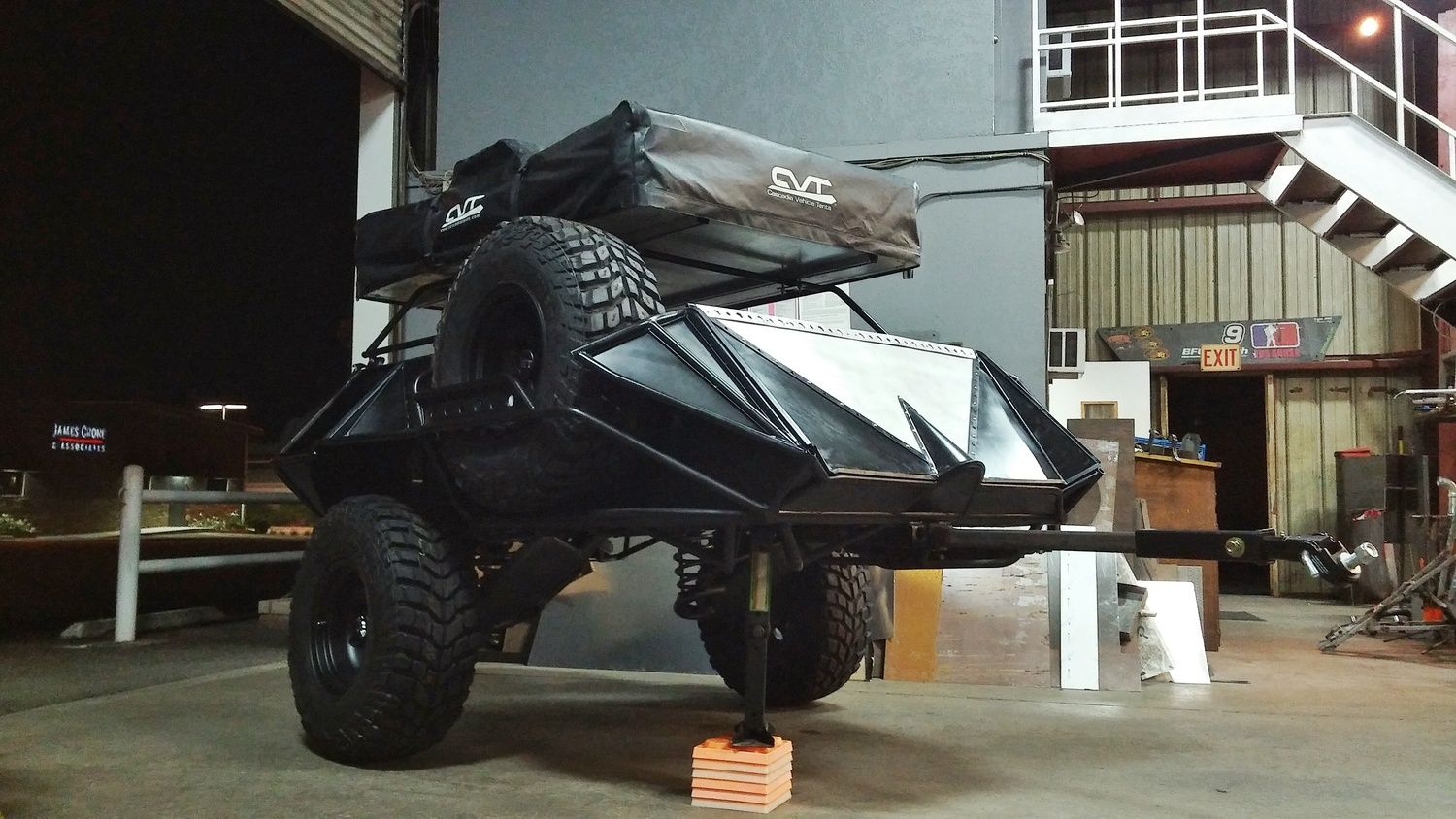 Yeti Built Off Road Trailer Small Pinterest Lengthening Car Page 2 Pirate4x4com 4x4 And Offroad Build