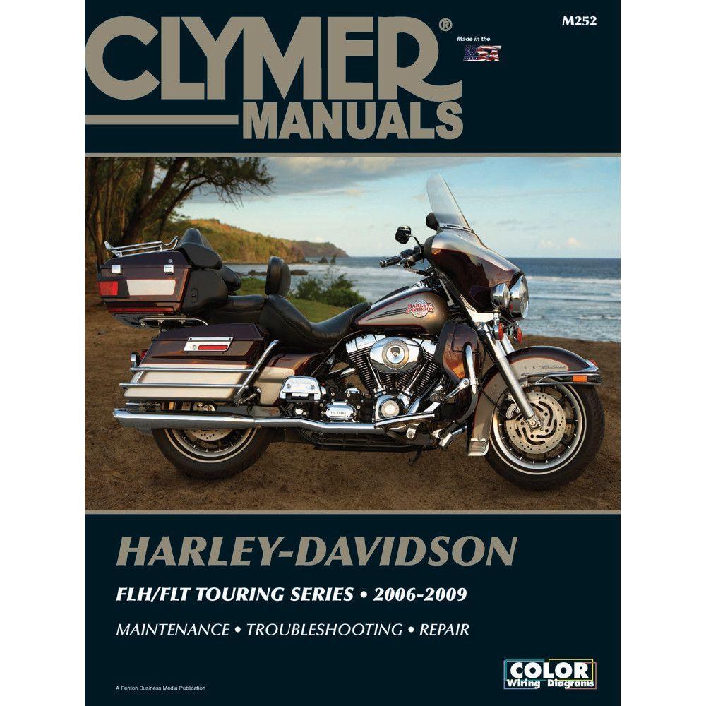 Clymer Harley-Davidson FLH-FLT Touring Series (2006-2009 ...