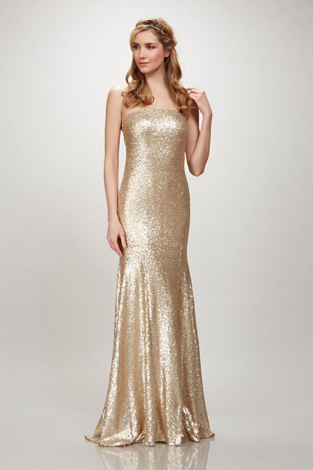 You AND Your Bridesmaids Will Look Phenomenal In These THEIA Gowns