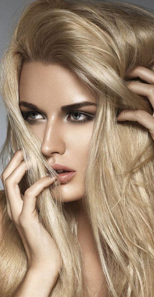 #makeup face, dark eyes, great lip color