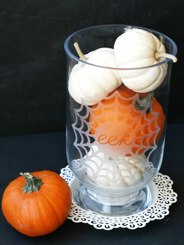 Etched glass halloween vase a great do it yourself project for the etched glass halloween vase a great do it yourself project for the crafty solutioingenieria Image collections