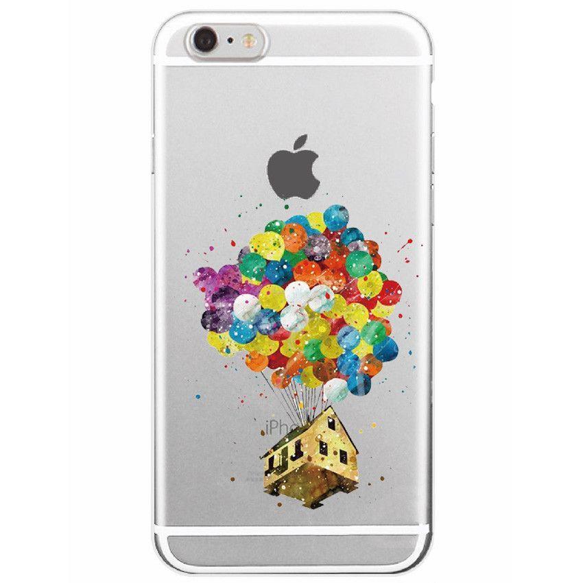 Disney Aquarelle Pixar Up Iphone Case Free Shipping Phone Case
