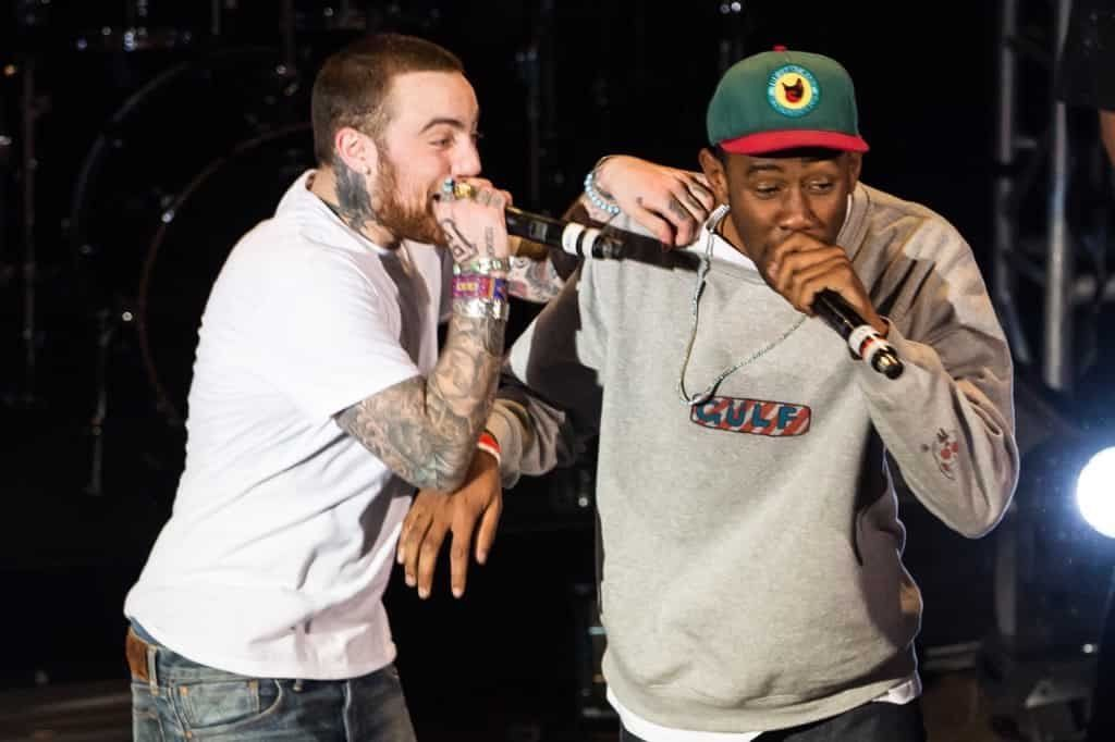 R.I.P Mac Miller. With Tyler The Creator ripping the M.I.C