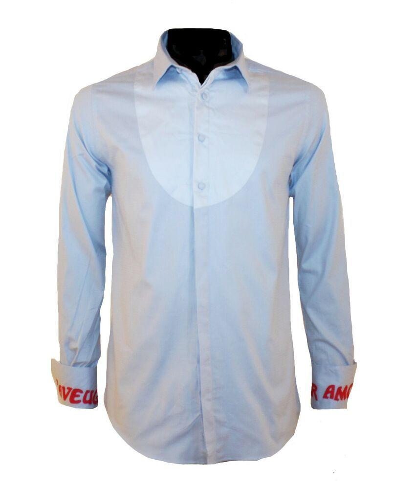 85aa0091a1b GUCCI MEN SHIRT NEW SLIM FIT BLUE BUTTON DOWN SHIRT SIZE XXL  fashion   clothing  shoes  accessories  mensclothing  shirts (ebay link)