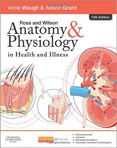 ross and wilson anatomy physiology 12th edition pdf download for free by anne waugh