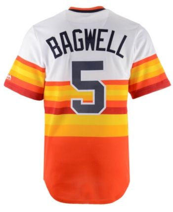 ca61b1a7 Majestic Men's Jeff Bagwell Houston Astros Cooperstown Player ...