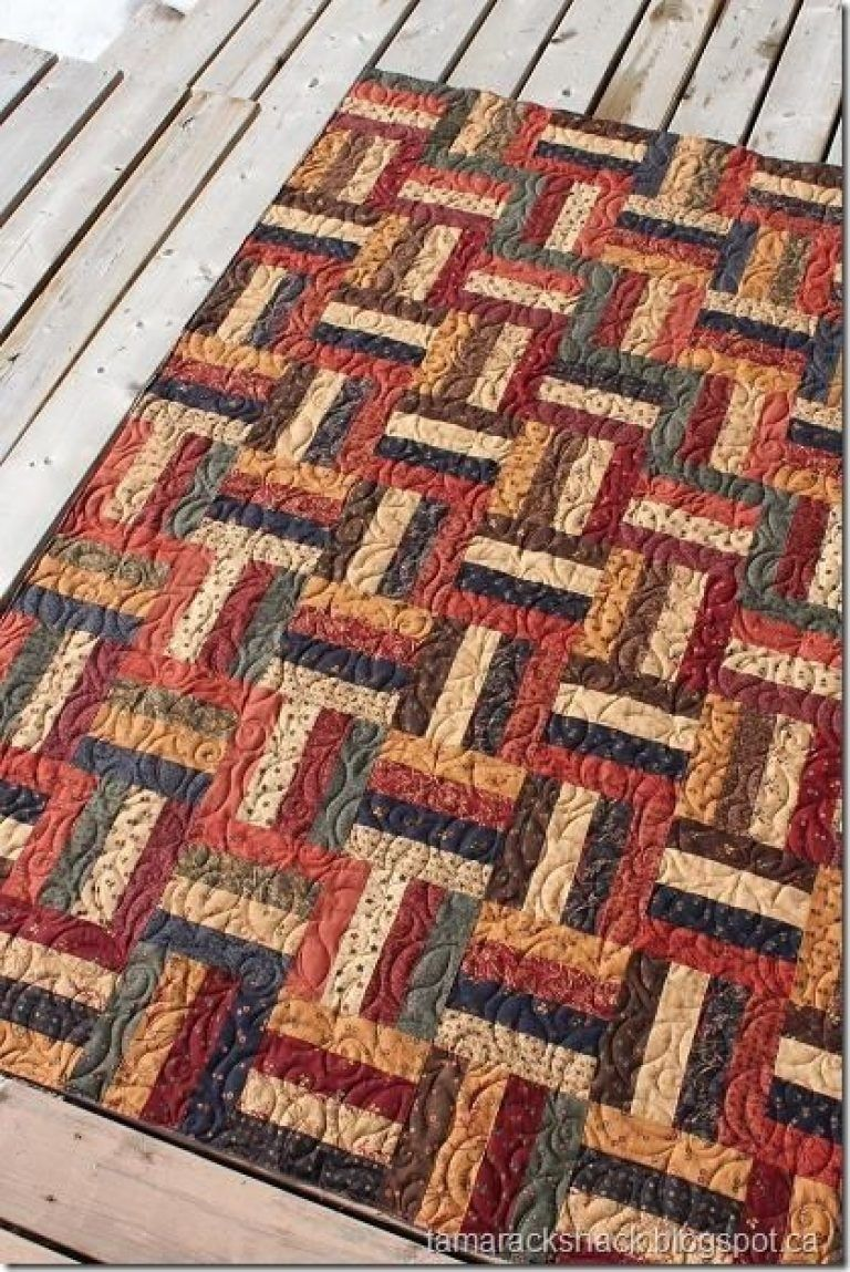 Railroad Quilt Pattern 17 best images about rail fence quilts on pinterest patterns #jellyrollquilts