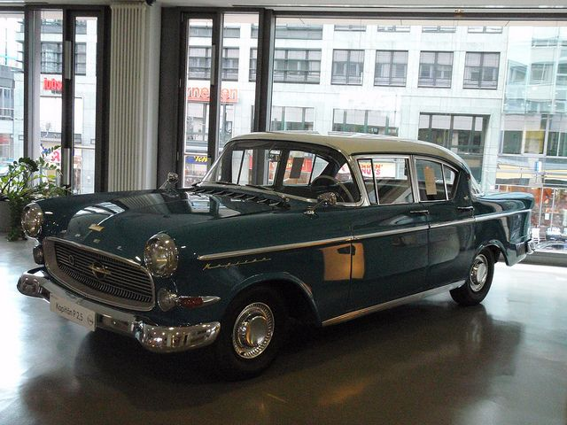 Classic Opel in Berlin    #classic #vintage #opel #cars #vehicles