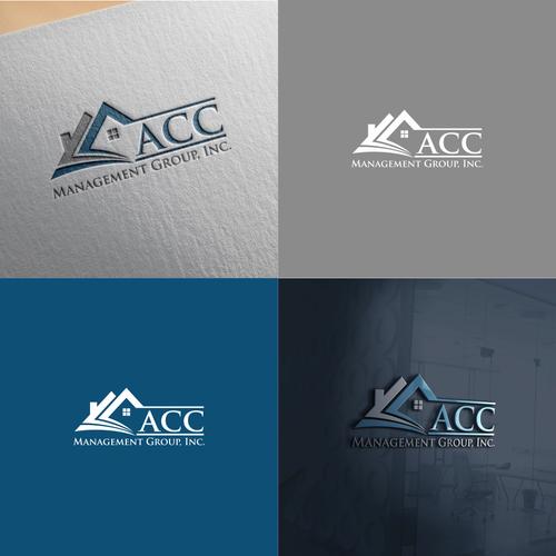 Acc Management Group Inc Established Property Management Co Needs Modernized Logo Multi Family Housing Pr Geometric Logo Custom Logo Design Creative Logo