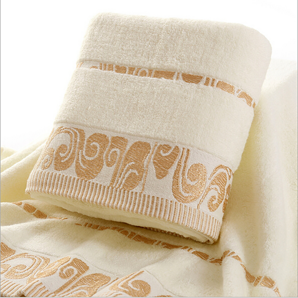100% Cotton Bath Towel Petal Embroidered