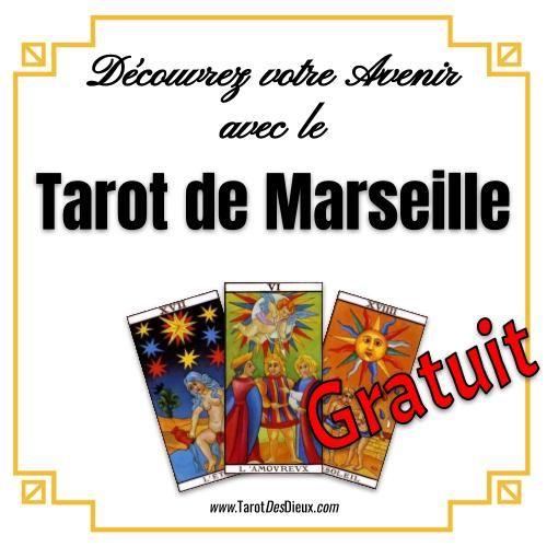 b389f692b2c3e Découvrez Maintenant Votre Avenir Avec Le Nouveau Tarot De Marseille ! En  choisissant simplement 6 cartes