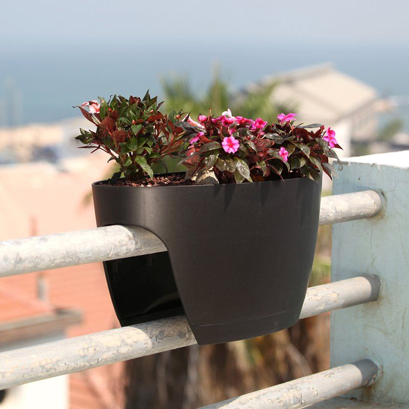 Have To Have It Greenbo Designer Rail And Deck Window Box Planter