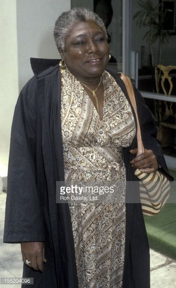 Actress Esther Rolle attends Adolph Caesar Memorial Service