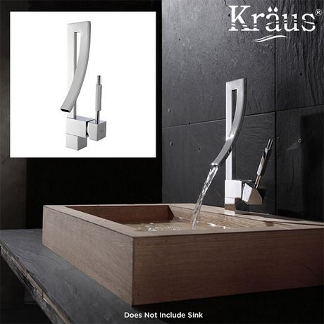 I found this amazing Kraus Millennium Single Lever Basin Faucet   Chrome at  nomorerack com for 80  off. I found this amazing Kraus Millennium Single Lever Basin Faucet