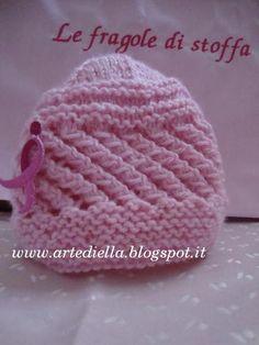 Cappellino e scarpette per neonato con spiegazioni  8e9133f53044