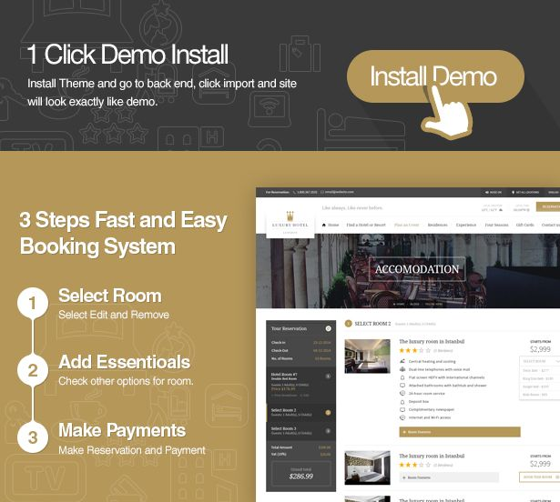 Top 10 Best Hotel Booking Wordpress Theme Chi Room Booking System Best Hotels Booking