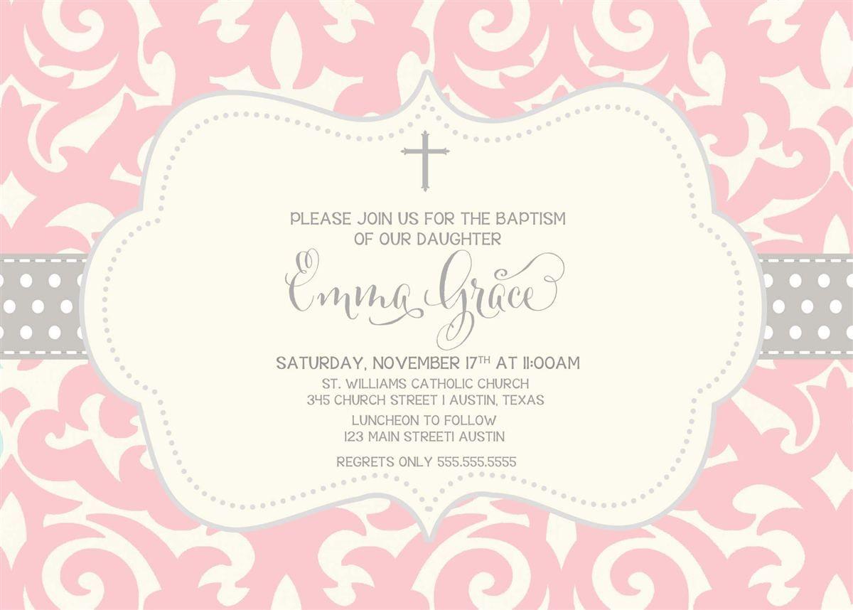 invitation-for-baptism-baby-boy | baptism invitations | Pinterest ...