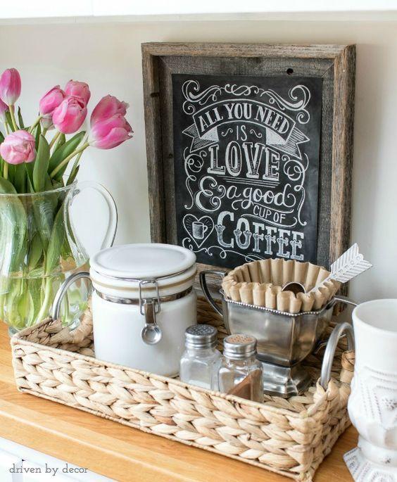 Coffee Bar Ideas How To Make A Coffee Bar At Home Kitchen Ideas