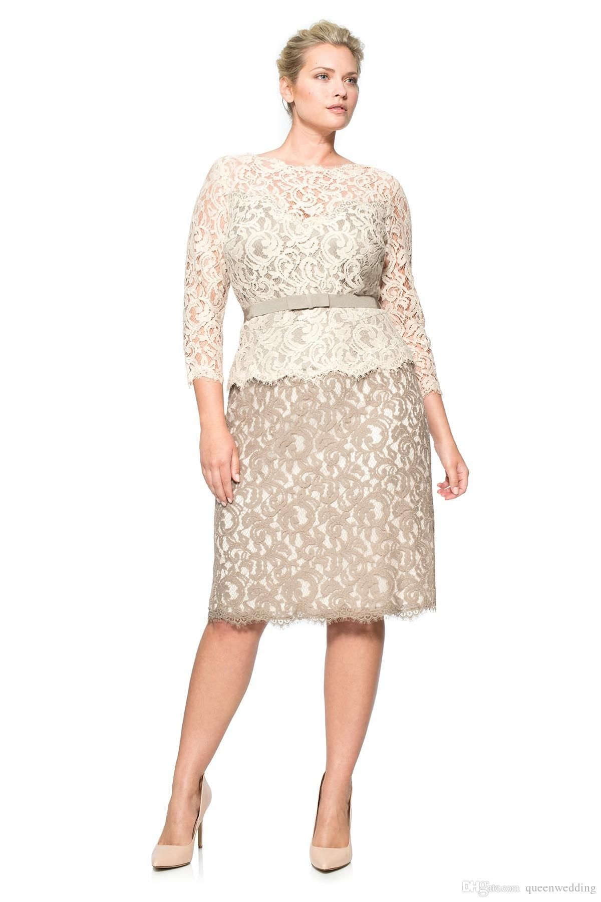 Mother Groom Dresses Plus Size