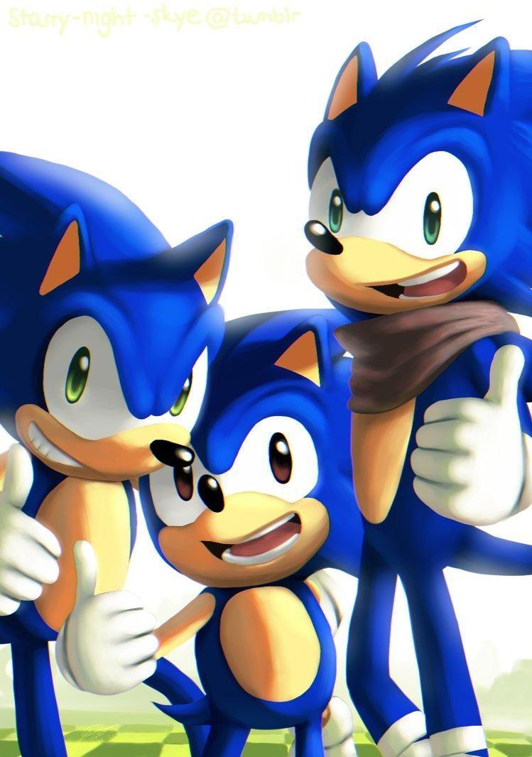 Classic Sonic Modern Sonic Reboom Sonic Sonic The Hedgehog Sonic The Hedgehog Sonic Classic Sonic