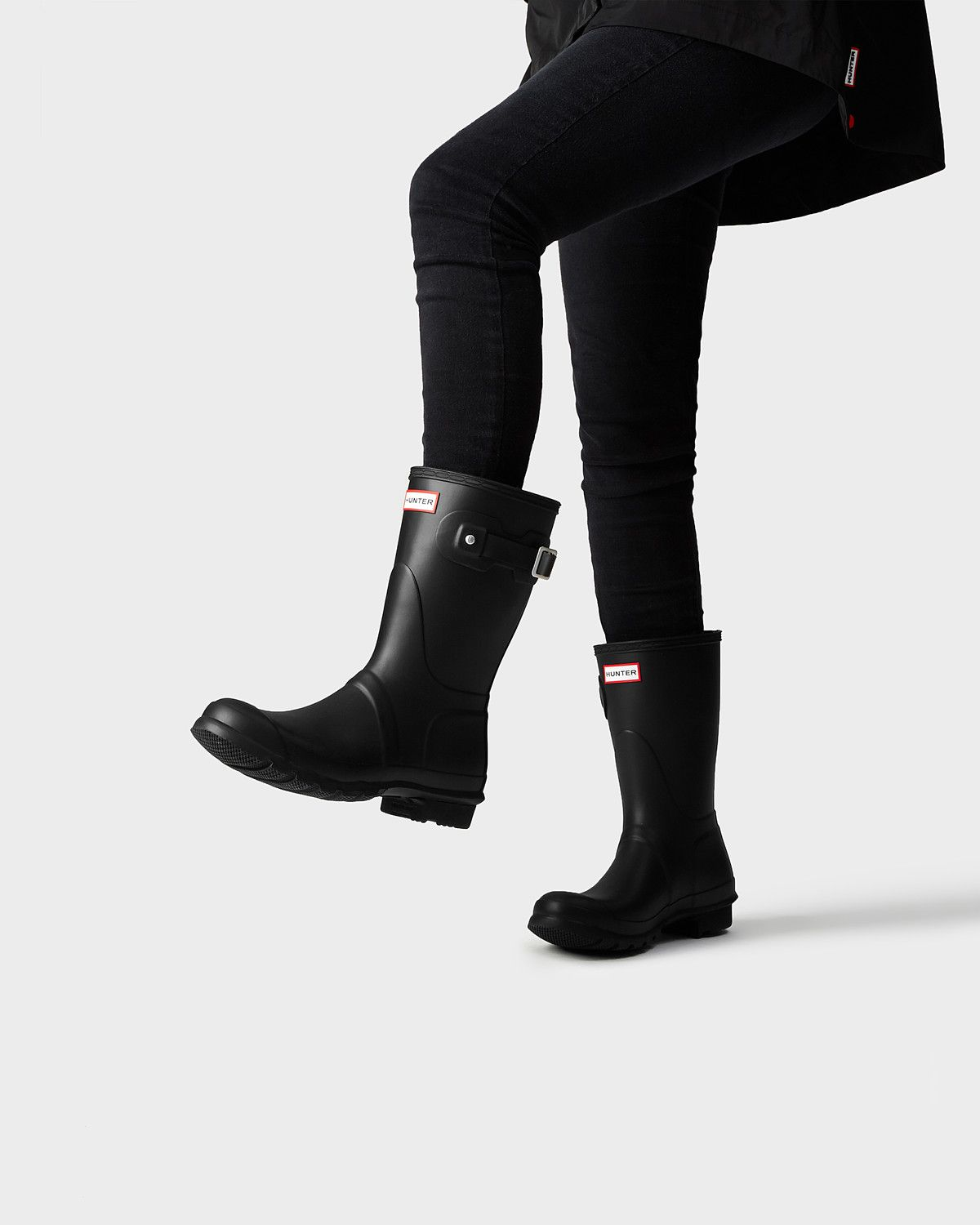 2655ca7a4 all black fashion women's. A short boot handcrafted in the same form as the Original  Tall.