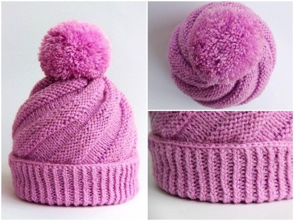 Photo of Bobble hat // Spiral hat // Free children's hat Instructions: Download the …