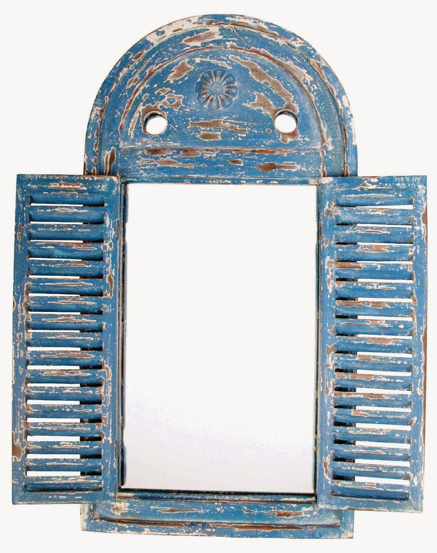 Fabulous Cool Stuff: Rustic Window Frame Mirror | Cool stuff ...