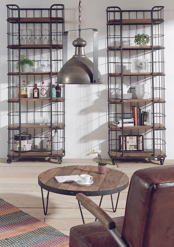 Découvrez nos collections de meuble au style industriel Shelf - meuble en fer design