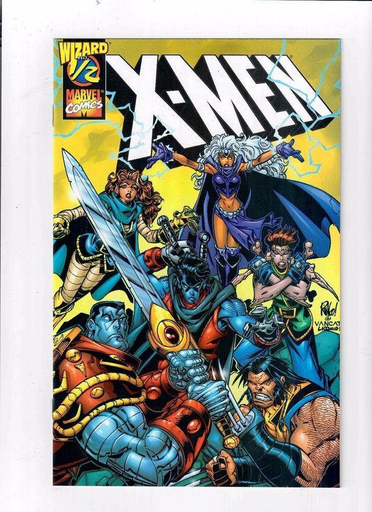 NM X-MEN #1//2 Limited Wizard edition w// COA