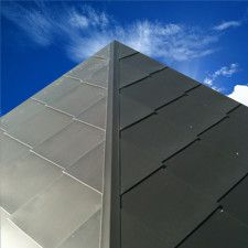 Shingle cladding metal cladding systems vic details for Revestimiento exterior zinc