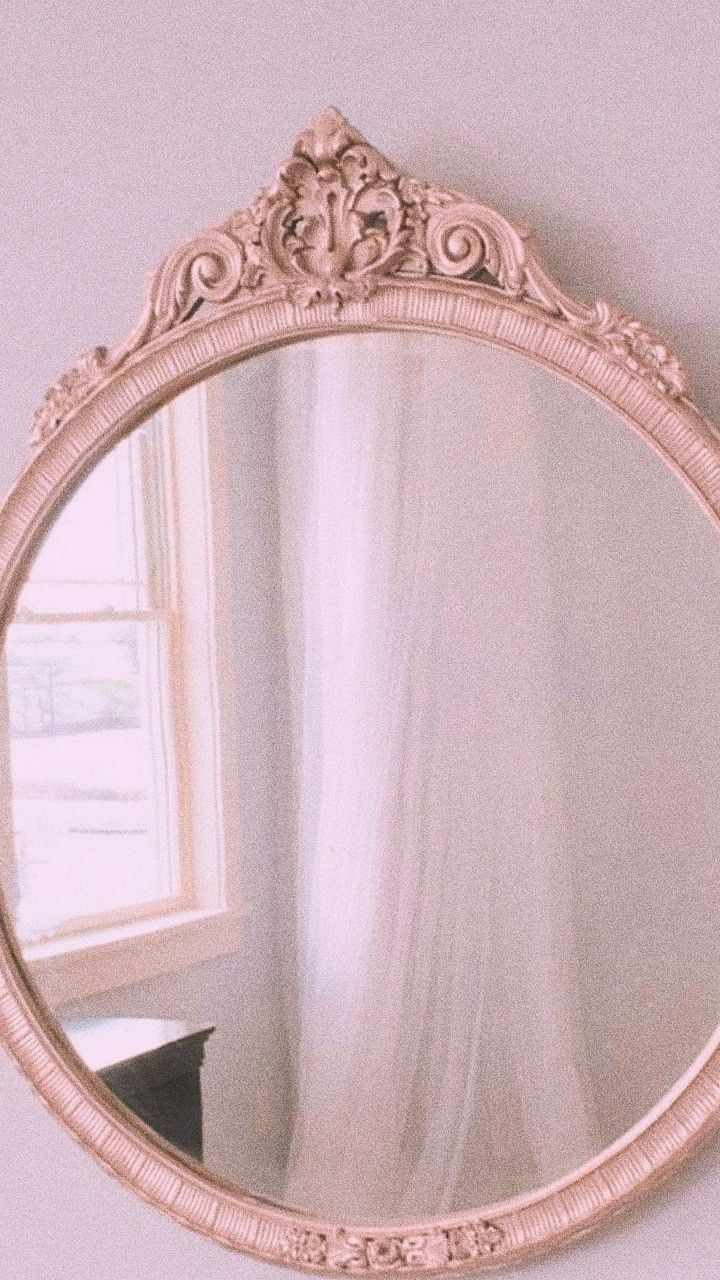 Your Past And Your Flaws Don T Determine You So Never Look At The Mirror And Feel Ashamed Vintage Mirrors Pink Aesthetic Aesthetic Wallpapers
