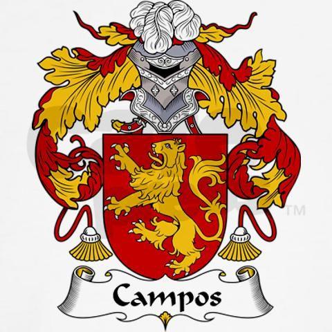 Campos Family Crest Heraldic Jewelry Misc Family