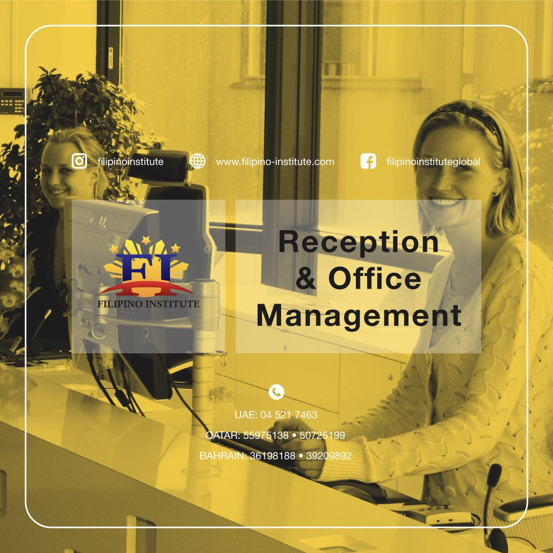 The Office Administration and Reception Training course is