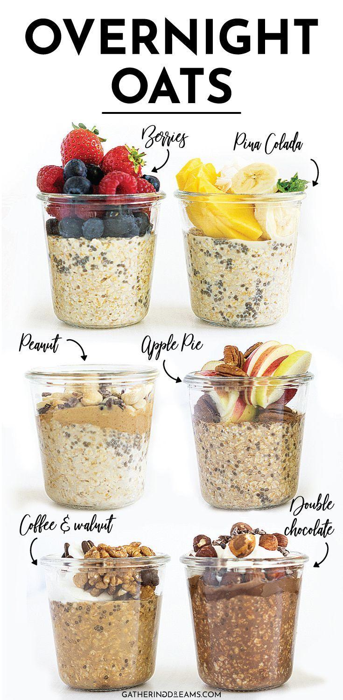 Photo of 6 Healthy Overnight Oats Recipes (+FAQ and Tips)