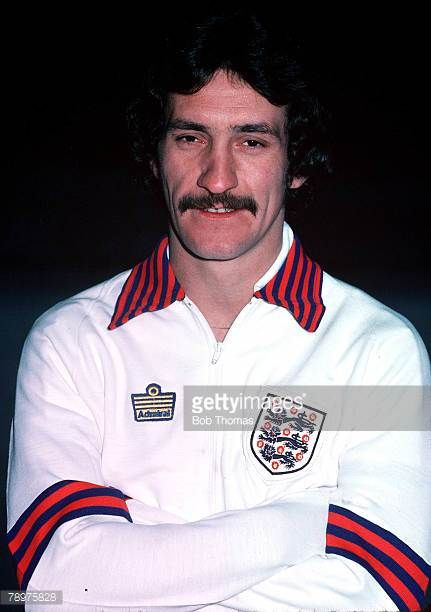 Football Terry McDermott of England Circa 1980